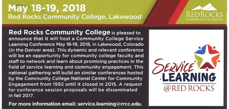 Save The Date – Conference on Service-Learning & Civic Engagement